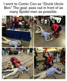 Is Flash-Dying a thing?  #spiderman / http://saltlakecomiccon.com/slcc-2015-tickets/?cc=Pinterest