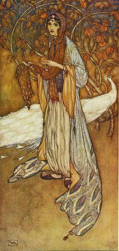 arthur rackham illustrations | Arthur Rackham: Rackham's Color Illustrations for Wagner's 'Ring'