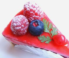 Thermomix Recipes: Wild Berry Cheese Cake with Thermomix
