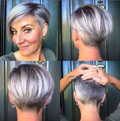 Beautiful Pixie And Bob Short Hairstyles 2019 Beautiful Pixi. - Beautiful Pixie And Bob Short Hairstyles 2019 Beautiful Pixie And Bob Short Hai - Short Pixie Haircuts, Short Hairstyles For Women, Pixie Bob, Hairstyles 2018, Bob Haircuts, Short Hair Styles Easy, Short Hair Cuts, Asymmetrical Bob Short, Short Asymmetrical Hairstyles