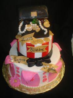 Pirate/Princess cake