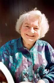 2. Schrijfster: Dit is Thea Beckman. Hier staan 3 dingen uit haar leven /werk:  1. Ze leefde van 5 juli 1923 tot 5 mei 2004. Ze is 80 jaar geworden.   2. Thea was getrouwd met Dirk Hendrik Beckmann (2x n). Hij leefde van 1912 tot 1993.    3. Kruistocht in spijkerbroek was het beste boek van Thea Beckman.