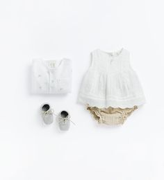 Image 1 of from Zara Zara Kids, Fashion Kids, Little Girl Fashion, Quoi Porter, Zara Baby, Cute Baby Clothes, Kid Styles, Summer Baby, Baby Wearing
