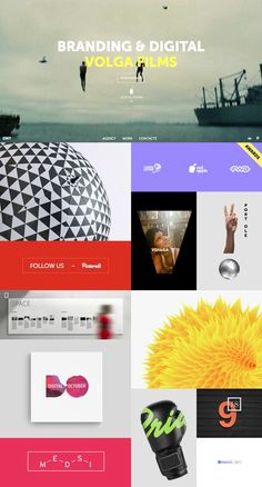 ONY website webdesign one page design Agency