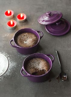Mi-cuit au chocolat Panna Cotta, Biscuits, Muffins, Pudding, Chocolate, Tableware, Ethnic Recipes, Lady, Food