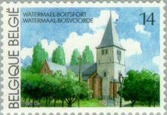 Sello: Watermael-Boitsfort (Bélgica) (Logne Castle, Ferrieres) Mi:BE 2433,Sn:BE 1357,Yt:BE 2381,Sg:BE 3031,AFA:BE 2440,Bel:BE 2381