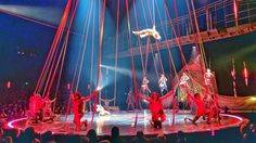Went to see Volta by Cirque du Soleil last night. AMAZING!!