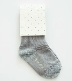 shopminikin - Bene Lurex Socks, Grey (http://www.shopminikin.com/bene-lurex-socks-grey/)