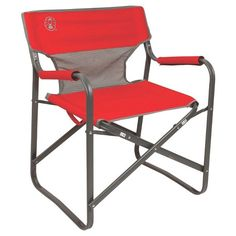 Coleman® Outpost™ Breeze Deck Chair - Red : Target