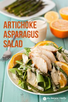 I especially love how the asparagus tastes in it this Paleo chicken salad recipe and you just may become a believe in artichoke hearts after this!