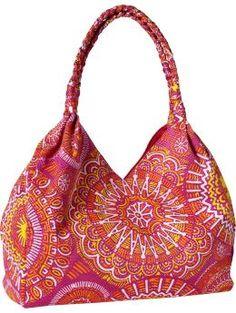 Women's Braided Jacquard-Print Tote, $19.94