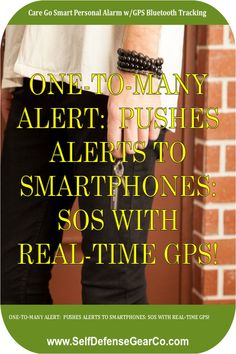 💕🍒 Every second matters in an emergency. In an emergency - oftentimes your phone isn't enough. Care Go™ is a next-gen Bluetooth alarm designed to save lives and peace of mind. Working together with the Care Go App on your smartphone - Care Go™ sends out SOS with real-time GPS location to multiple emergen... #personalalarm #personalalarmclock #personalalarms #personalalarmsystem #personalalarmclocks Personal Security, Personal Safety, Personal Defense, Alarm System, Save Life, Peace Of Mind, Bluetooth, Smartphone, App