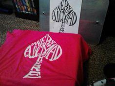 My Alice in wonderland shirt I've made