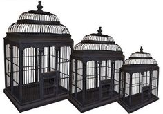 old bird cages/ victorian