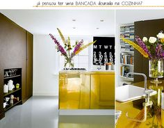 Cozinha Dourada