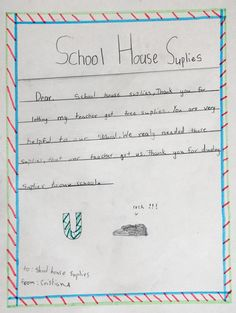 Schoolhouse Supplies exists to find winning partnerships for the community, our classrooms and the environment. By pairing the community with our classrooms everyone wins. Learn more about the impact Schoolhouse Supplies has made by reading what our kids have to say about us.