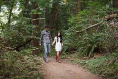 A Forest Engagement - Love + Wander