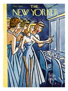The New Yorker Cover - May 1, 1954 Poster Print by Peter Arno at the Condé Nast Collection