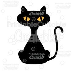 Halloween+Black+Cat+FREE+SVG+Cut+File+&+Clipart