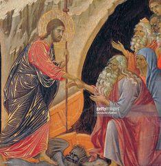 Christ Is Risen, He Is Risen, Duccio Di Buoninsegna, Odilon Redon, Italian Renaissance, 14th Century, Ufo, Fresco, Adventure