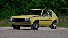 1972 AMC Gremlin / I know that some people don't like this car... But I LOVE IT ! It's soooo charismatic :3