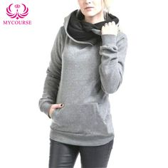 Find More Hoodies & Sweatshirts Information about MYCOURSE 2016 Solid Hoodies Sweatshirt Women Hoodies Long Sleeve Female Pullover Casual Tops Sweatshirts Women's Clothings New,High Quality sweatshirt clothing,China sweatshirt cotton Suppliers, Cheap sweatshirt hoodie from MYCOURSE on Aliexpress.com