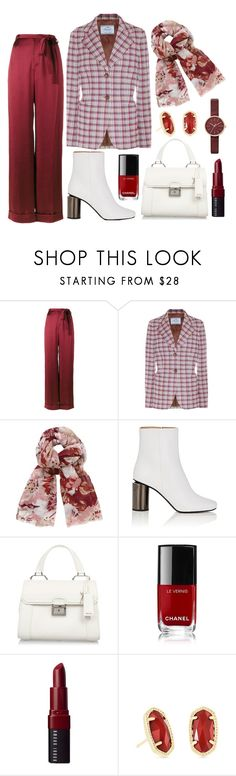 """Fall office"" by forgetrules ❤ liked on Polyvore featuring Valentino, Prada, John Lewis, Acne Studios, Miu Miu, Chanel, Bobbi Brown Cosmetics, Kendra Scott and Skagen"