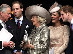 The British Royals, Camilla Parker Bowles, Kate Middleton, Prince Charles, Prince Harry, Prince Philip, Prince William, Queen Elizabeth, Individual Class