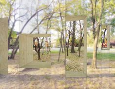 A Closer Look Into Invisible Barn By Stpmj A Folly - A Straightforward Expression Of Integrating Architecture And Nature The Invisible Barn By New York Design Practice Stpmj Blends Seamlessly Into The Surroundings Of Socrates Sculpture Park The Propos Urban Landscape, Landscape Design, Ile D Aix, Instalation Art, Design Studio, Parcs, In The Tree, Public Art, Public Spaces
