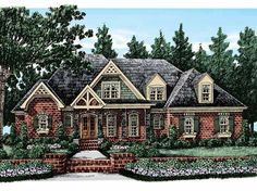 Eplans Cottage House Plan - Five Bedroom Cottage - 4107 Square Feet and 5 Bedrooms from Eplans - House Plan Code HWEPL13246