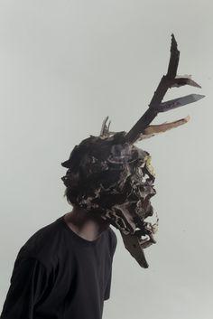 Masks by Jozef Mrva, via Behance