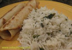 Chipotle Cilantro rice...need to try this!