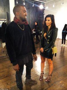 Kanye and his wife Kim Kardashian were spotted at Zambesi in Melbourne's CBD earlier in the day