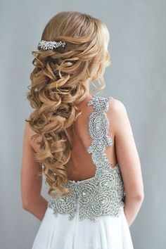 half-up quinceanera hairstyles