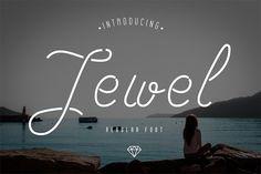 Jewel Font by Blogoodf on @creativemarket