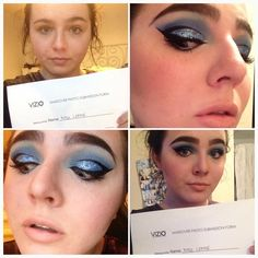 Love the cat eye done by the super talented Madi #viziomakeupacademy #makeupartist