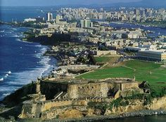 Puerto Rico...cool old fort.