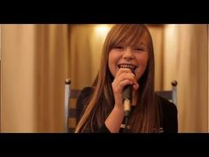 there will be an answer, let it be I like her nice voice..Connie Talbot - Let It Be (HQ)