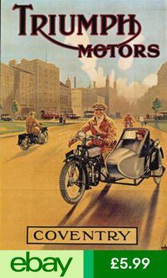 Vintage Motorcycles Classic Triumph vintage poster More - Bike Poster, Motorcycle Posters, Scooter Motorcycle, Motorcycle Design, Motorcycle Quotes, Motorcycle Types, Triumph Bikes, Triumph Motorcycles, Vintage Motorcycles