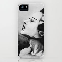 Bride of Frankenstein iPhone & iPod Case by Noelle Fontaine - $35.00