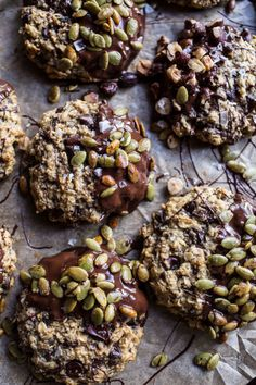 Harvest Oatmeal Chocolate Chunk Cookies With Salted Toasted Pepitas 15 Sweet And Salty Desserts That Are Infinitely More Satisfying Than A Boyfriend Baking Recipes, Cookie Recipes, Dessert Recipes, Cod Recipes, Ramen Recipes, Cabbage Recipes, Pudding Recipes, Turkey Recipes, Pizza Recipes