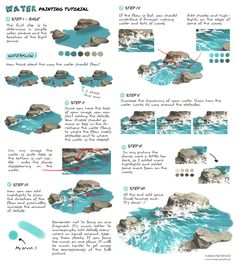 Water Tutorial by lisiCat.deviantart.com on @DeviantArt