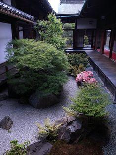 Un jardin japonais abrité !