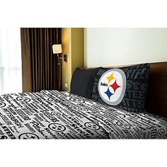 Pittsburgh Steelers Twin Sheet Set >>> Read more reviews of the product by visiting the link on the image.