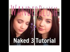 ♡ Naked 3 Spring Tutorial ♡ ||  WanderBlush  Hey guys! If you want to see this beautiful, easy, spring look using the Naked 3 pallet stay tuned! Like, and subscribe for more from WanderBlush  Love!!! Emily