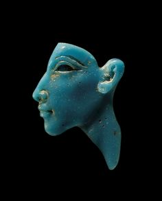 Origins of #Glassmaking: Portrait Inlay of the Pharaoh Akhenaten, about 1353-1336 BC | Corning Museum of #Glass