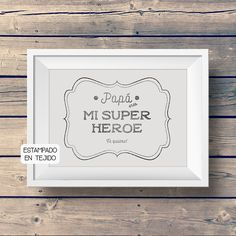 Items similar to Dad you are my superhero! Fabric art print that shows your love and admiration for dad! Original birthday gift, for fathers day, handprinted on Etsy You Are My Superhero, Superhero Fabric, Fabric Art, Grandparents, Fathers Day, Printing On Fabric, Birthday Gifts, Birthdays, Dads