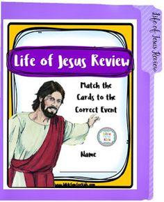 Life of Jesus FFG & Game Cards #Biblefun #lifeofjesus