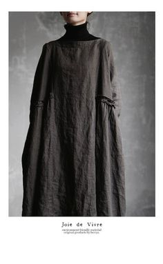 【送料無料】Joie de Vivreフレンチリネンバイオワッシャーブロガントフリルワンピース Hijab Fashion, Girl Fashion, Fashion Dresses, Womens Fashion, Fashion Design, Linen Dresses, Casual Dresses, Natural Clothing, Kinds Of Clothes