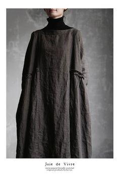 Hijab Fashion, Girl Fashion, Fashion Dresses, Womens Fashion, Fashion Design, Linen Dresses, Casual Dresses, Natural Clothing, Kinds Of Clothes